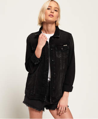 Superdry Denim Baseball Jacket