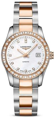 Longines Conquest Classic Watch, 29.5mm $5,850 thestylecure.com
