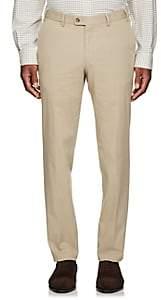 Hiltl Men's Cotton Modern-Fit Trousers - Beige/Tan Size 38