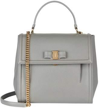 Salvatore Ferragamo Medium Carrie Top Handle Bag