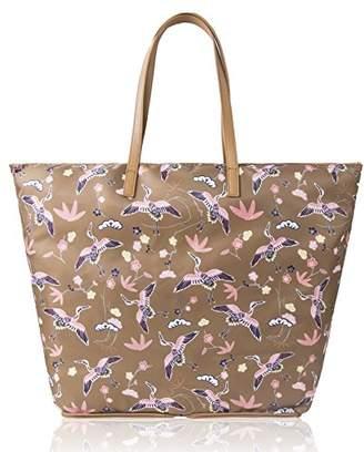 Co The Lovely Tote Women's Cranes Print Portable Shopper Bag