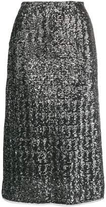 Gianluca Capannolo sequinned skirt