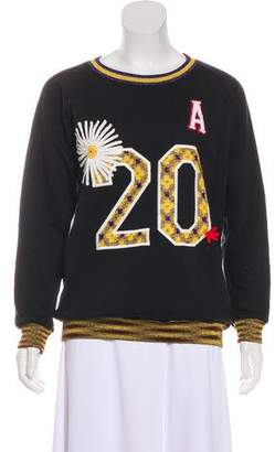 Missoni Embroidered Crew Neck Sweatshirt