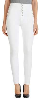 J Brand 'Natasha Sky High' High Rise Skinny Jeans
