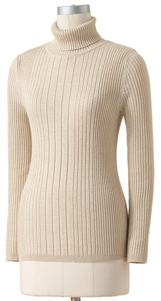 212 Collection Lurex Turtleneck Sweater