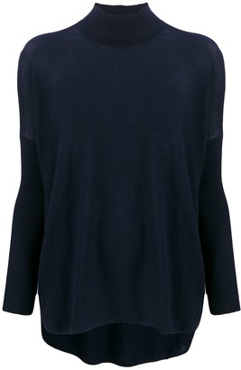 Gentry Portofino cashmere turtleneck jumper