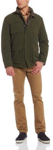 Ben Sherman Men's Carbon Coated 4 Pocket Field Jacket