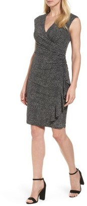 Women's Anne Klein Faux Wrap Dress $119 thestylecure.com
