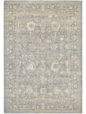 Lark Manor Alison Persian Arabesque Gray/Cream Area Rug