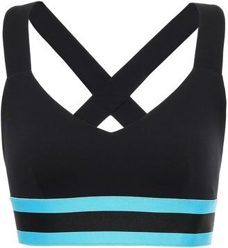 NO KA 'OI Maoli Striped Stretch Sports Bra
