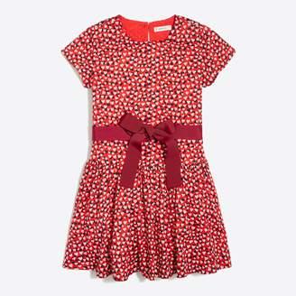 J.Crew Factory Girls' heart print dress