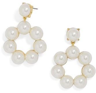 Women's Baublebar Aleeza Imitation Pearl Drop Earrings