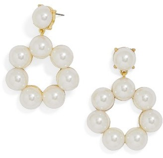 Women's Baublebar Aleeza Imitation Pearl Drop Earrings $32 thestylecure.com