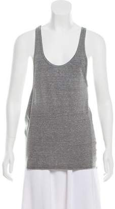 OAK Asymmetrical Sleeveless Top Grey Asymmetrical Sleeveless Top
