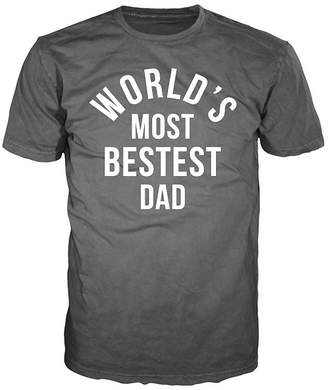 DAY Birger et Mikkelsen NOVELTY PROMOTIONAL Father's Bestest Dad Graphic Tee