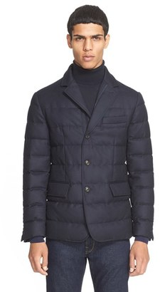 Men's Moncler 'Rodin' Quilted Down Sport Coat $1,315 thestylecure.com