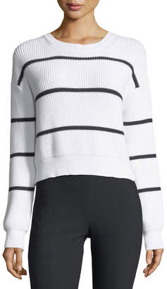 Vince Racked Rib Pullover Sweater