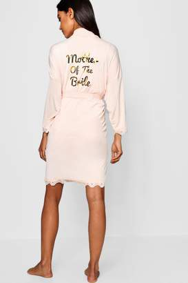 boohoo Mother Of The Bride Robe