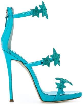 Giuseppe Zanotti Design star strap stiletto sandals