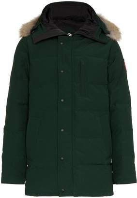 Canada Goose Carson fur trim hooded coat