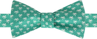 Tommy Hilfiger Men's Printed Palm Tree To-Be-Tied Bow Tie $49.50 thestylecure.com