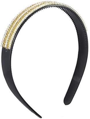 Uxcell Plastic Lady Hairstyle DIY Elastic Hair Hoop Gift