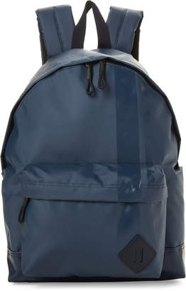 Steve Madden Navy Wet Slick Backpack