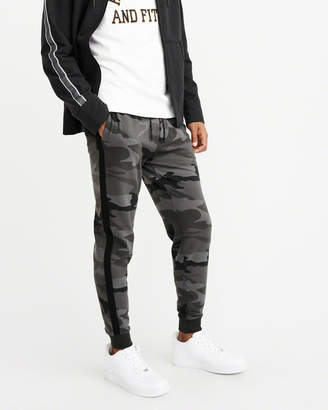 Abercrombie & Fitch Stretch Fleece Side Stripe Joggers