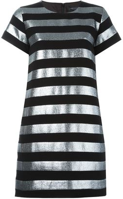 Marc By Marc Jacobs striped T-shirt dress $625.08 thestylecure.com
