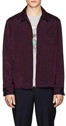 Kenzo Men's Bengal-Striped Twill Shirt Jacket