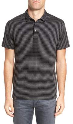 French Connection Alternative Stripe Short Sleeve Polo