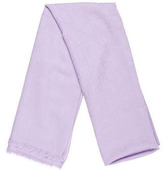 Gucci GG Print Wool Blend Scarf