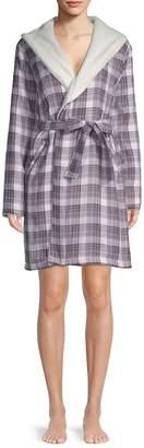 UGG Women's W Anika Plaid Cotton Robe