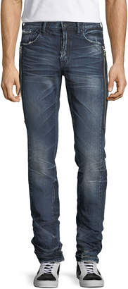 PRPS Le Sabre Side-Zip Tapered Jeans