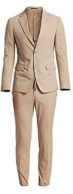 Ermenegildo Zegna Men's Two-Button Cotton Suit
