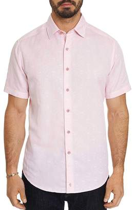 Robert Graham Skull Classic Fit Short-Sleeve Shirt