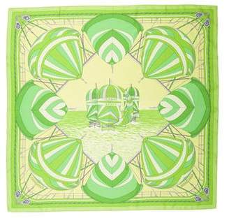 Hermes Spinnakers Silk Scarf