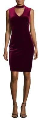 Calvin Klein Choker Sheath Dress