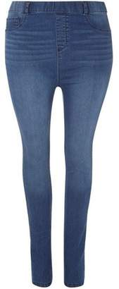 Dorothy Perkins Womens **DP Curve Mid Wash Jeggings