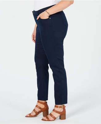 Style&Co. Style & Co Plus Size Straight-Leg Pants, Created for Macy's