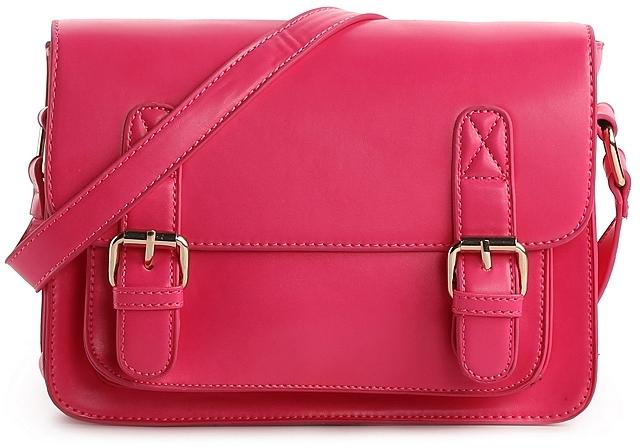 Poppie Jones Belted Flap Mini Shoulder Bag
