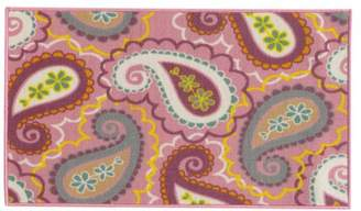 Newcastle Home Jubliee Youth Paisley Pink and Purple Rug