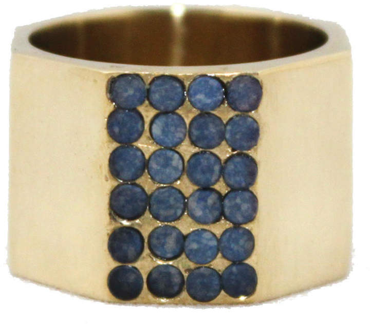 Pave Octagon Ring