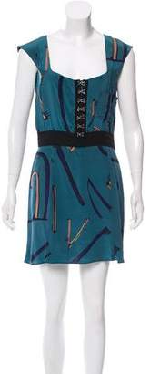Vena Cava Silk Mini Dress