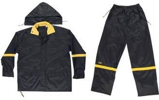 CLC Custom Leathercraft XL Black Nylon Rain Suit Set, 3pk