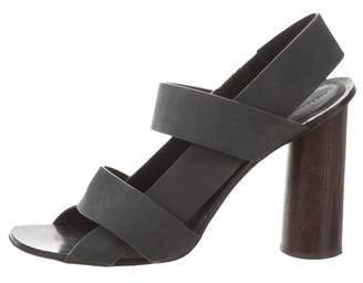 Proenza Schouler Suede Slingback Sandals