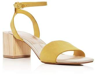 Dolce Vita Women's Zarita Leather Block Heel Sandals