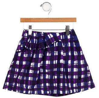 Christian Dior Girls' Printed Mini Skirt