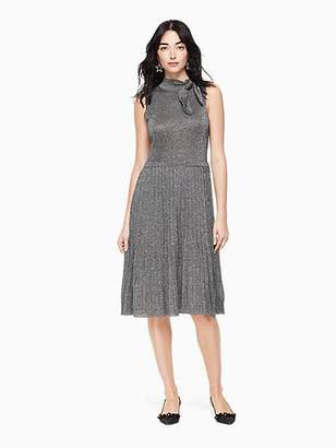 Kate Spade Metallic knot sweater dress