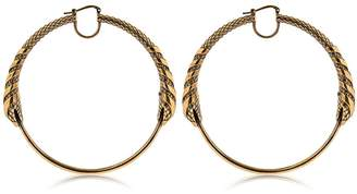 Roberto Cavalli Snake Earrings